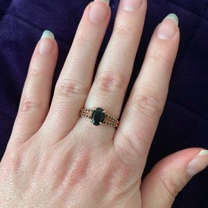 💜Fragrant Jewels wicked ring size 6 (3/$25)
